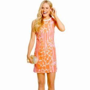 {Lilly Pulitzer} Target Girafeeey Sheath Dress